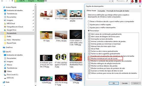 windows 10 ver imagenes en miniatura deixou de ver as miniaturas das imagens no windows 10
