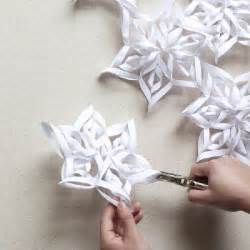 diy paper snowflakes templates diy paper snowflake projects 2d 3d to beautify