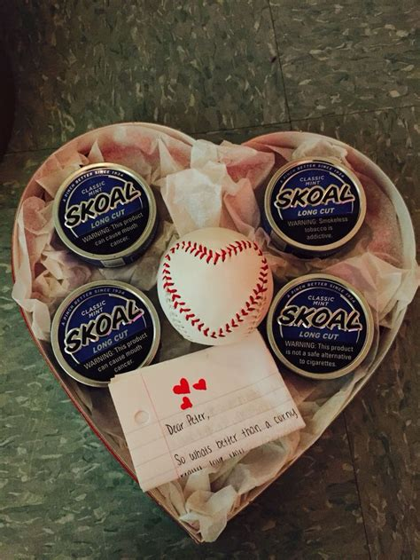 valentines boyfriend gift ideas s day gift for him baseball