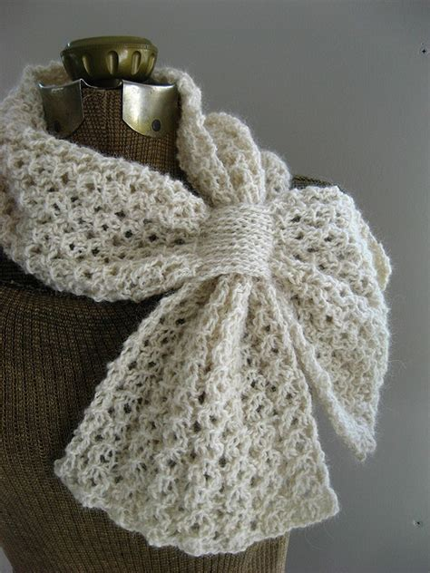 knitting pattern loopy scarf loopy lace scarf crochet collars scarves pinterest