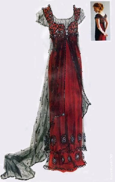 Original photos of the actual titanic costumes titanic edwardian dress and gowns