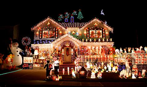 decorated christmas homes christmas house decorations home design