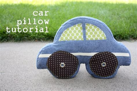 pillow car car pillow tutorial noodlehead