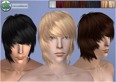 emo boy sims 4 the sims 4 anime hair styles newhairstylesformen2014 com