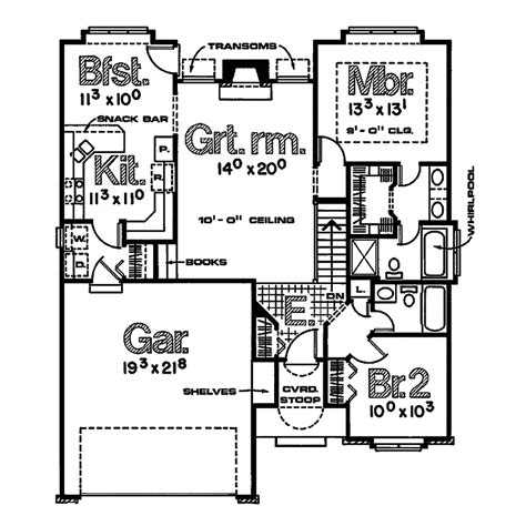 Borden Lake Narrow Lot Home Plan 026d 0521 House Plans Lake House Floor Plans Narrow Lot