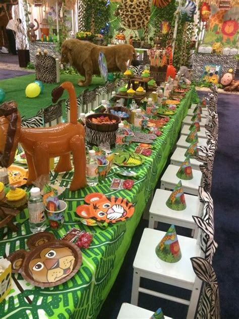 jungle themed birthday party jungle safari birthday party ideas safari birthday party