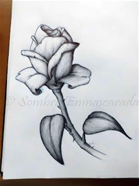 imagenes de flores sombreadas los dibujos de meli rosa