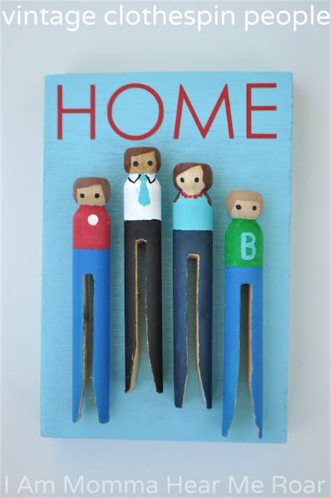 Cool Crafts To Make For Your Room - 33 crafty things to make with clothespins easy tip junkie