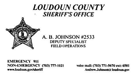 Loudoun County Sheriff S Office by South Townhouses