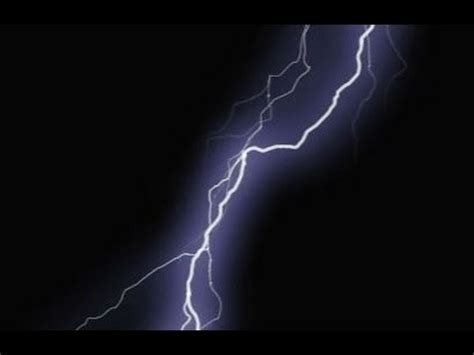 Lightning Animation Lightning Strike Green Screen Animation