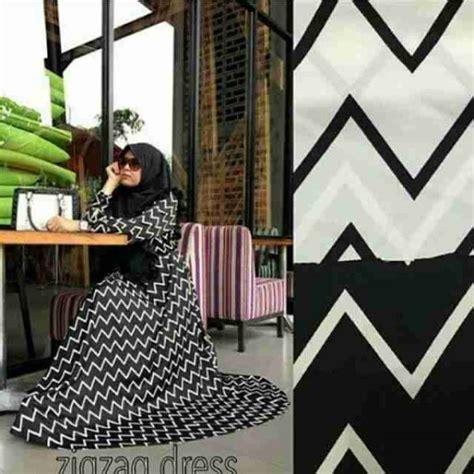 Maxi Umbrella Syari gamis syari zigzag sifon a044 model busana muslim terbaru