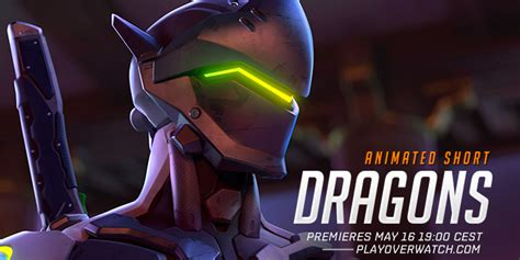 epic film animowany new overwatch animated short quot dragons quot coming this monday