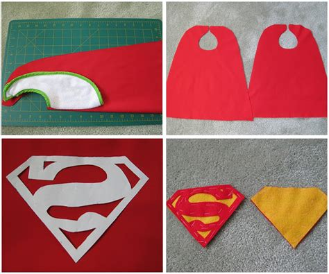 my handmade home tutorial diy superhero capes