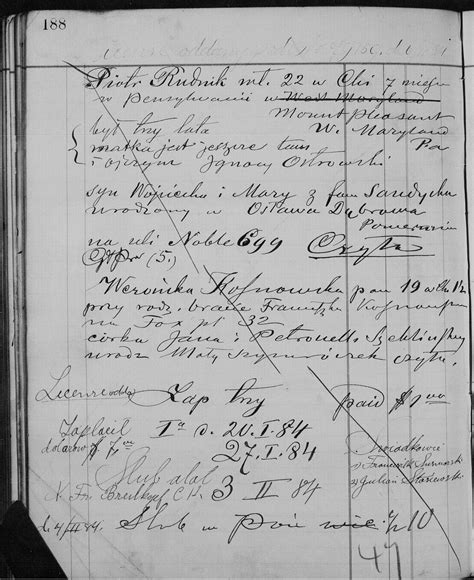 Marriage Records Chicago Forum Polishorigins View Topic Records Translations