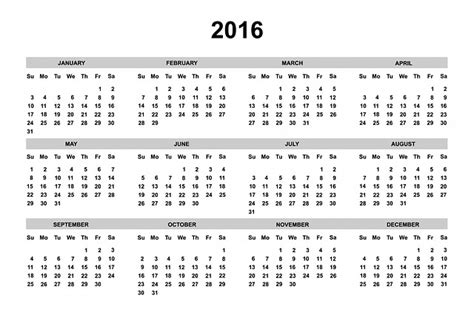 free printable year planner 2016 nz free photo calendar 2016 2016 calendar year free