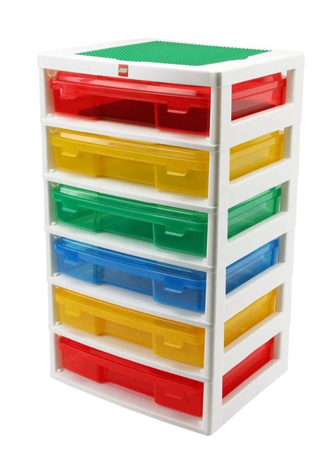 Lego Storage Drawer by Lego 6 Drawer Workstation And Storage Unit For 48 04