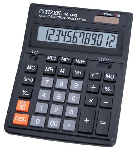 Kalkulator Citizen Sdc 805 kalkulator biurowy citizen sdc 444s hurt pl