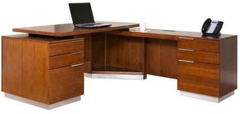 cherry office desks monterey cherry office furniture executive desk