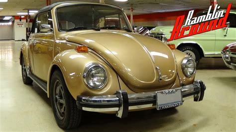 gold volkswagen beetle 1974 volkswagen super beetle convertible possible rare