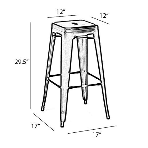 White Specs In Stool by Antique White Antique Bar Stool