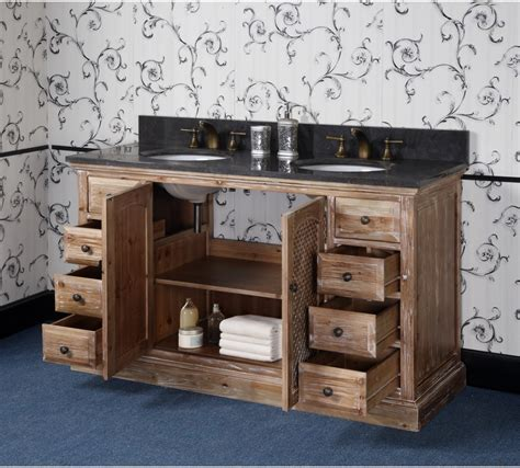 bathroom vanities sink 60 inches antique wk series 60 inch rustic sink bathroom