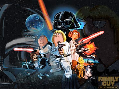 film blue harvest star wars the force awakens teaser gets the family guy