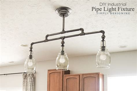 industrial pipe light fixture diy industrial pipe light fixture
