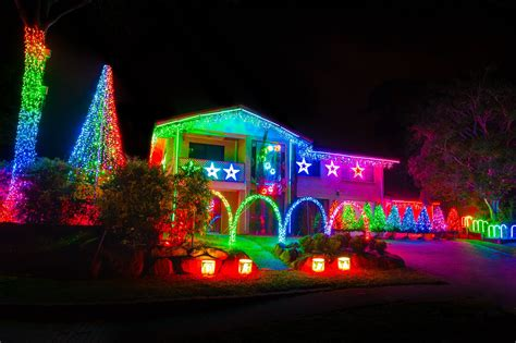the olsen christmas light display local flavor 595 amboy