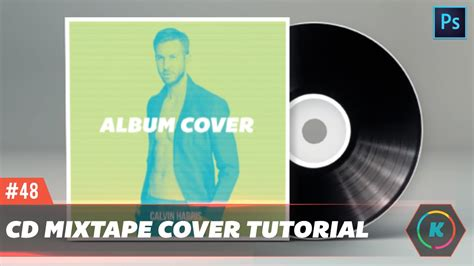 design cd cover using photoshop design a clean and professional mixtape cd cover