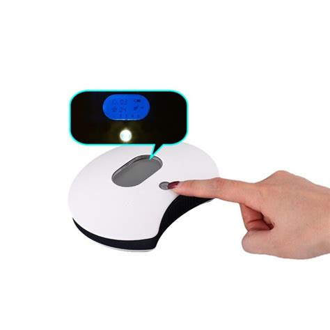 portable mini air purification disinfection machine with 1800mah rechargeable battery