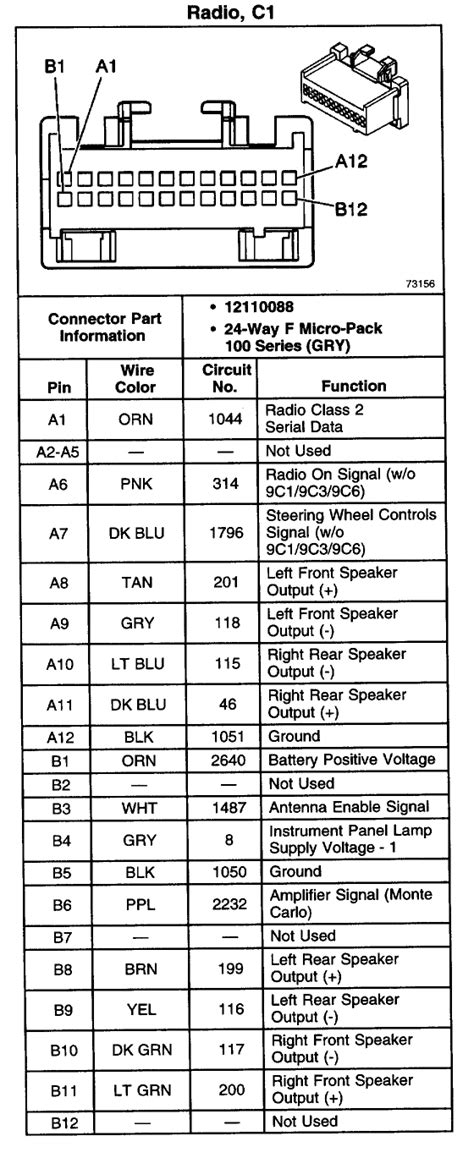 silverado bose radio wiring diagram collection wiring collection