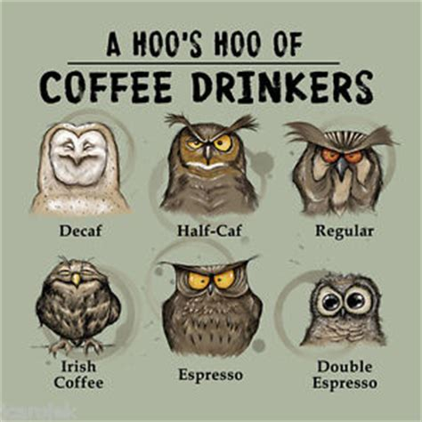 T Shirt Cotton Gildan Addicted owl t shirt gildan coffee addict espresso decaf unisex s m