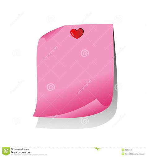 writing a referral letter pink paper note royalty free stock image image 10283196