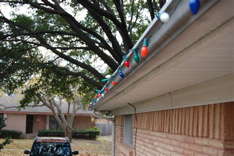 hanging christmas lights made easy