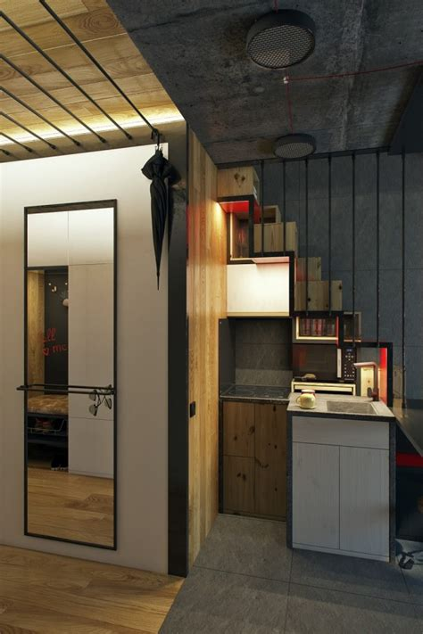 18 square meters to feet micro home design super tiny apartment of 18 square meters