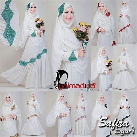 Baju Muslim Dress Gamis Khimar Syari Azizah Syarii safira syari by syalmadina jual busana muslim