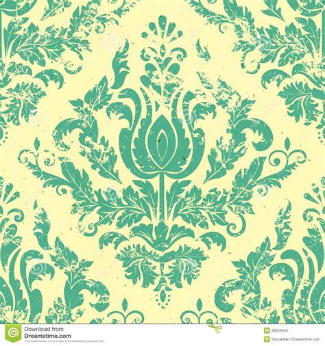 vector damask seamless pattern element vector vintage damask seamless pattern element stock