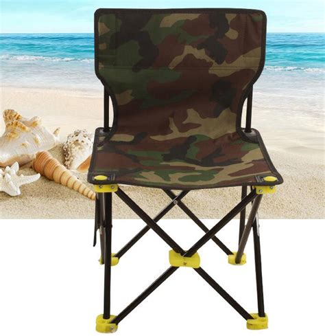 creative outdoor folding portable high chair high quality camouflage aluminum folding grill portable