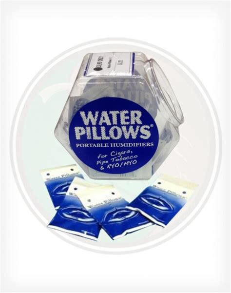 Humidor Water Pillow by Water Pillows Portable Tobacco Humidifiers
