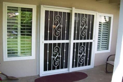 secure  sliding glass doors glass door ideas