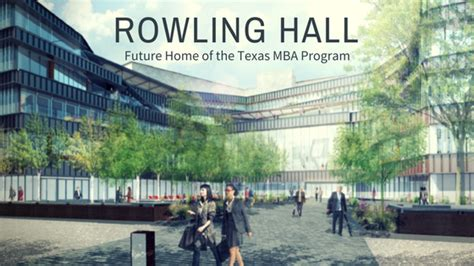 Utah Mba Gre by Rowling Is Coming Mccombs Mba Insider