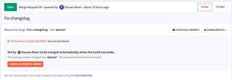 gitlab merge request workflow merge when build succeeds 183 workflow 183 help 183 gitlab