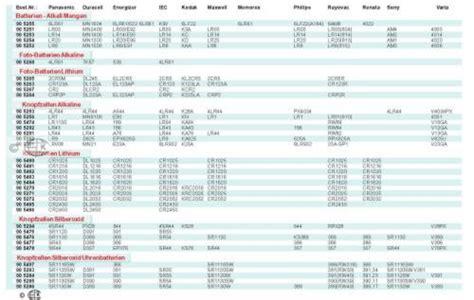 knopfzellen tabelle lichterkette perlen bestellen bei yatego