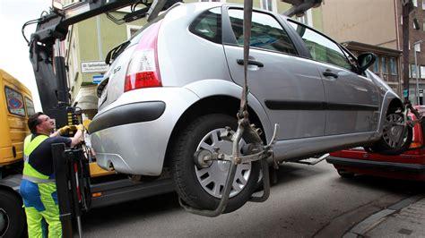 Auto Abgeschleppt by Falsch Geparkte Autos D 252 Rfen Sofort Abgeschleppt Werden