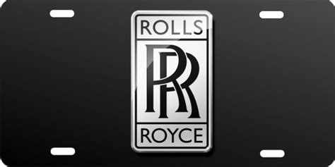 personalized novelty license plate rolls royce custom