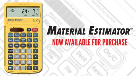 building materials estimator material estimator driverlayer search engine