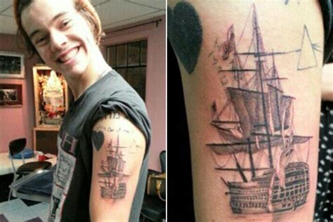 harry styles tattoo für zayn harry styles y zayn malik de one direction locos por los