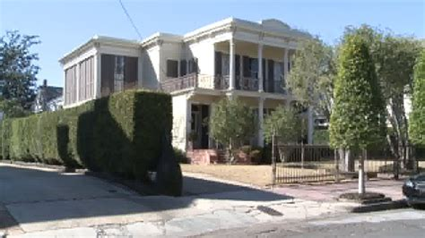 Eli Manning House Pictures by The Home Where Nfl Football Eli Peyton Manning Grew Up Wgno