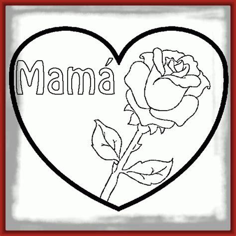 imagenes de rosas y corazones para colorear dibujos para pintar de rosas y corazones archivos