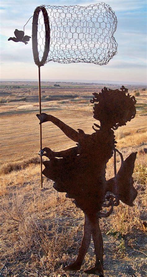 sculture da giardino butterfly fiori sculture da giardino statue da